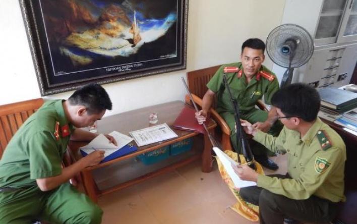 Kiểm lâm Vườn Quốc gia Phong Nha - Kẻ Bàng bắt giữ...